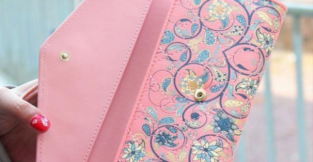 Zaodejte vaše peniaze Dámske elegantné kvietkované peňaženky ... dc870b1fa59