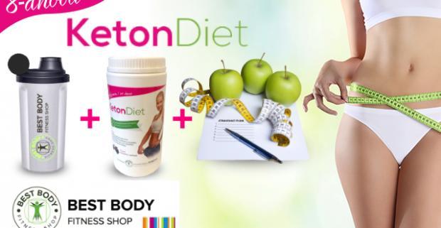 8-dňové balenie proteínovej diéty KetonDiet. Bez pridaného cukru, bez aspartámu, s príchuťou holandskej čokolády.