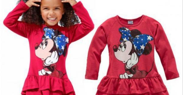 5517d8de4 Walt Disney šaty pre dievčatá. Prevedené v potlači s lesklými nálepkami.  Vhodné pre malé princezné do každého počasia.
