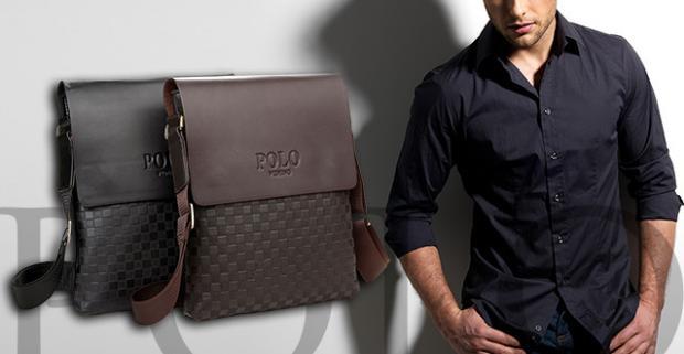 da9d3769f2 Elegantné pánske tašky obľúbenej značky POLO. Ako príručná taška do  lietadla