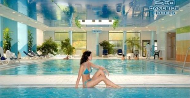 Ubytovanie v Budapešti, polpenzia a luxusné wellness. Presne takú dovolenku môžete zažiť v 4* hoteli Danubius Health Spa Resort Helia.