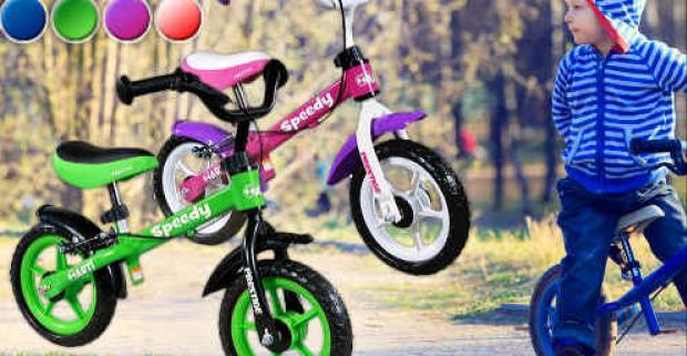 Už malé detičky naučíte bicyklovať. S kvalitnými odrážadlami ARTI Speedy pre deti od 3 rokov s nosnosťou až 35 kg im to pôjde perfektne.