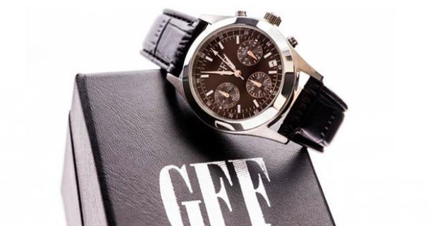 278955a10 Luxusné pánske hodinky model GFF Chronograph. Rýchlosť plynutia času sa  nedá zmeniť! Elegancia, s akou ho trávime, áno!