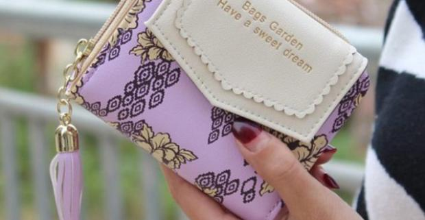 0f8a6d302c Dámske peňaženky v pastelových farbách. Doplnok