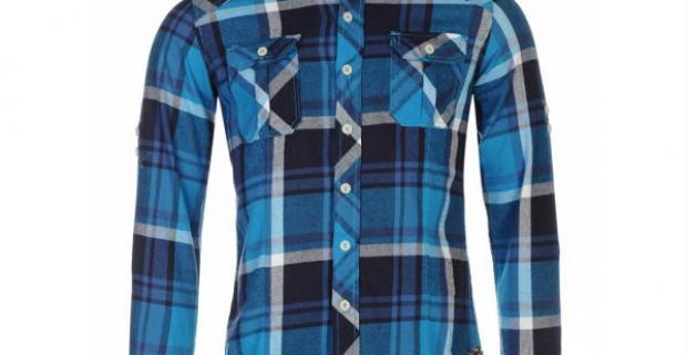 17171cab90105 Štýlová pánska košeľa Lee Cooper. Ležérne a pohodlné oblečenie zo 100%  bavlny, dlhými rukávmi s nastaviteľnou manžetou.