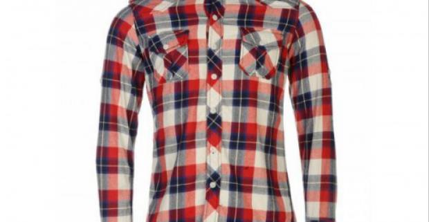 4ce99a6ea Pánska flanelová košeľa značky Lee Cooper. Pohodlie a ležérnosť vám zaručí  bavlnený materiál a kvalitné prevedenie.