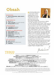 3. stránka Tesco letáku