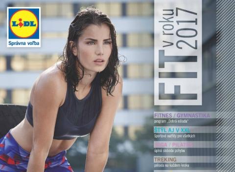 Lidl - športová brožúra