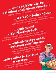 3. stránka Kaufland letáku