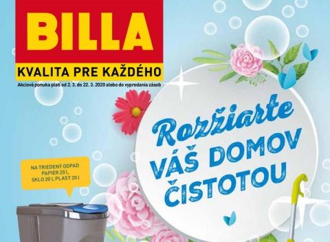 Billa - Katalóg