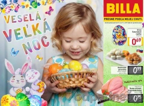 Billa - Veselá Veľká Noc