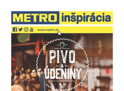 Metro - Pivo a údeniny