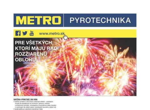 METRO - Pyrotechnika
