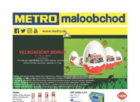 METRO - Maloobchod