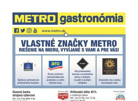 METRO - Gastronómia