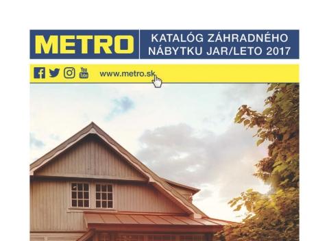 METRO - Záhradný nábytok