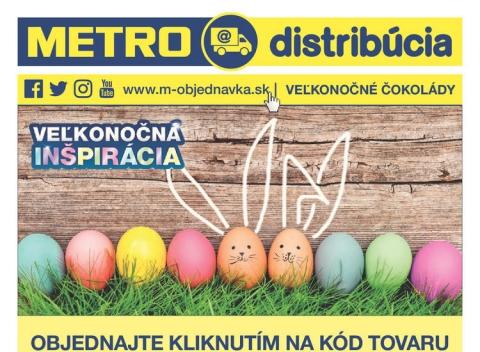 METRO - Veľkonočné čokolády Distribúcia