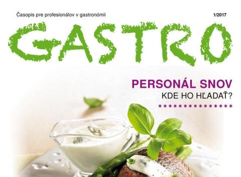 METRO časopis Gastro - Jar 2017
