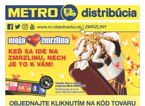 Metro - Zmrzliny distribúcia