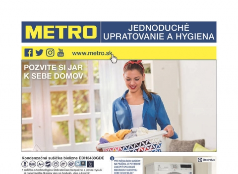 METRO - Upratovanie