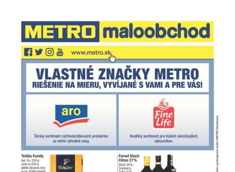 METRO letáky a katalogy - Maloobchod