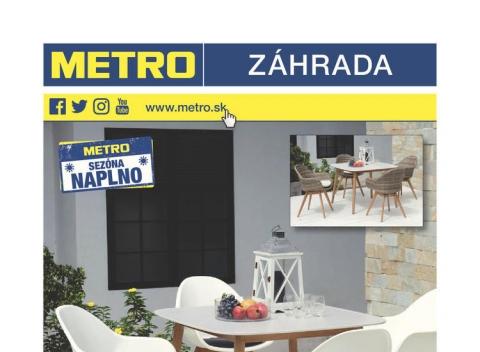 Metro - Záhrada