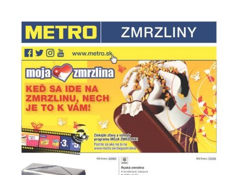 Metro - Zmrzliny