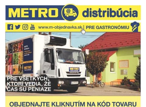 METRO - Gastronómia Distribúcia