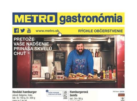Metro - Rýchle občerstvenie