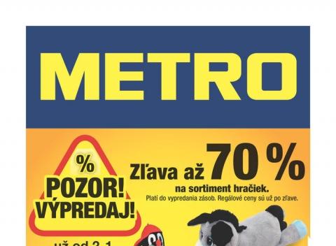Metro - Výpredaj