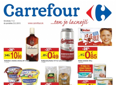 Carrefour - výpredaj