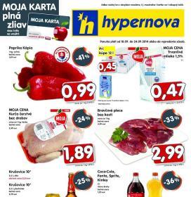 Hypernova - akciový leták