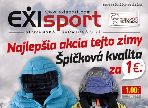 EXIsport- Najlepšia akcia tejto zimy