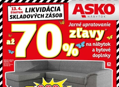 Asko nábytok - Bratislava, Košice, Nitra, Trenčín, Poprad a Prievidza