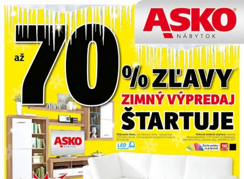 Asko nábytok - Eshop, Bratislava, Košice, Nitra, Trenčín, Poprad a Prievidza.