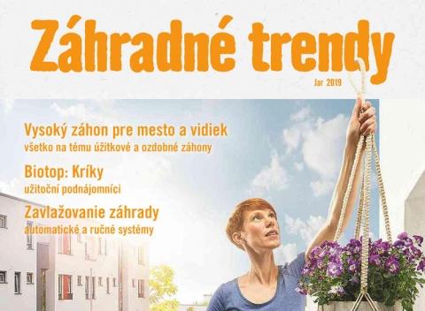 Hornbach - Záhradné trendy - jar 2019