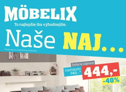 Mobelix - B. Bystrica, Prešov, Košice
