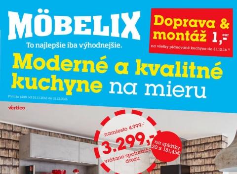 Mobelix - Moderné a kvalitné kuchyne na mieru