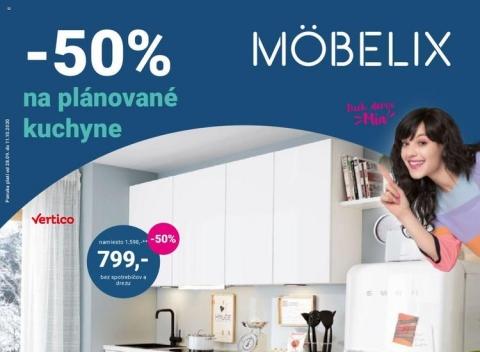 Mobelix - platí pre Levice, Senicu, Dunajskú Stredu