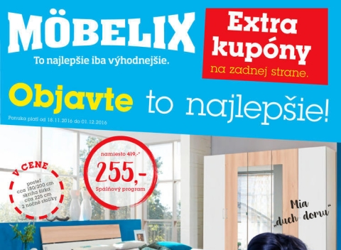 Mobelix - E-shop, Banská Bystrica, Košice, Prešov