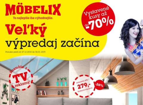 be64775504 Mobelix akciové letáky