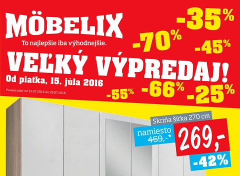 Mobelix - Bratislava, Trenčín