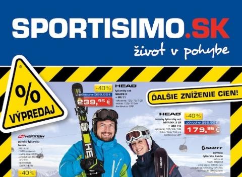 Sportisimo - Akčný leták