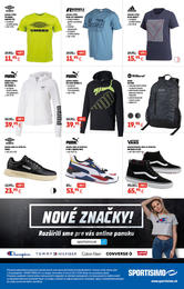 8. stránka Sportisimo letáku