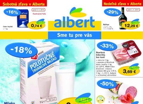 Albert - Akciový leták