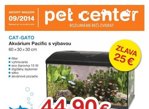 Pet Center aktuálny leták