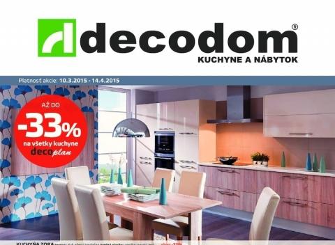 Decodom - Akciový leták
