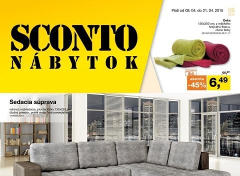 Sconto - Letáková akcia
