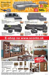 8. stránka Sconto nábytok letáku