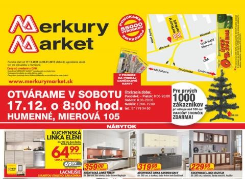 Merkury Market - Humenné